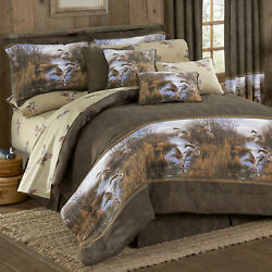 Flying Ducks Bedding Set Blue Ridge Trading Duck Approach Comforter Set And Add On