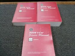 2008 Chevy Corvette Shop Service Repair Manual Set Indy 500 Z06 427 Crystal Red