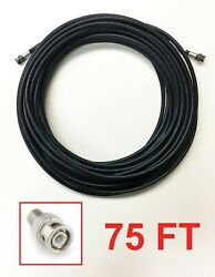 Belden 8241 75and039 Foot Male M-m Bnc Shielded Cable