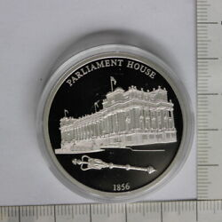 Parliament House 175th Anniversary Of Melbourne Proof Medal 3363153/h1