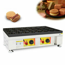 Nonstick Electric 110v 32pcs Red Bean Pan Cake Waffle Maker Machine Snack Cooker