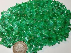 196-ct Beautiful Natural Emeralds Crystals Type Best Jewels From Swat Mine Pak