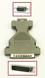 Gray Db9 Female To Db25 Male Adapter
