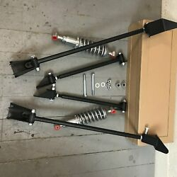 Triangulated Rear 4 Link And Coilovers 31 1931 Model A Deluxe Kit Ford Hot Rod V8