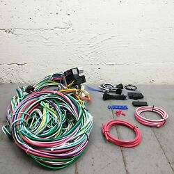 1960 - 1965 Ford Falcon Wire Harness Upgrade Kit Fits Painless Circuit Compact