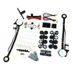 1960-94 Dodge Car Power Window Kit Retrofit Bolt-in 12v Door Panel With Switches