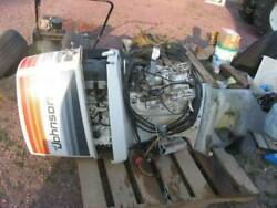 Johnson 235 Hp 6 Cylinder 2 Stroke Outboard Motor With Controls