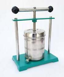 Big Tincture Press Stainless Steel Fruit Wine Juice Press Cheese Only Green