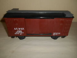 At And Sf 6789 G Scale Brown Freight Car
