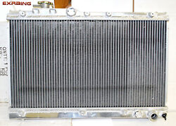 2 Rows Aluminum Performance Radiator For 94-99 Toyota Celica Gt4 4wd 3s-gte