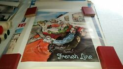 Live The Life You Love  French Line Original Poster Bonche, Rene  1960
