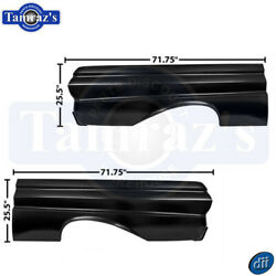 1964-1965 Ford Falcon Full Quarter Panels Pair 2 Door Coupe Convertible Dynacorn