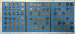 54 Coin Set 1909-1940 Lincoln Wheat Penny Cent - Early Dates Collection 192
