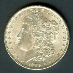 1889 Morgan Silver Dollar Appears A Beautiful Gem + ........