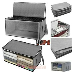 Home Closet Storage Bags Clothes Container Foldable Pouches Dustproof Organizer