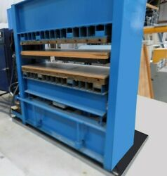 """64"""" X 24"""" WABASH 140 TON HYDRAULIC MOLDING PLATEN 4 POST PRESS SELF CONTAINED"""