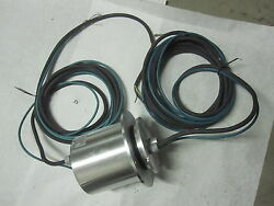 Atc Production Hybrid Slip Ring Collecteur 13 Pistes For Rotary Tables Aluminum