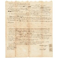 1800 Owen Todd Granduncle To Mary Lincoln Signed Ohio Document And William Lytle