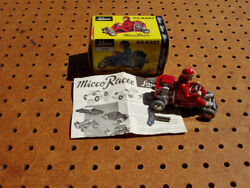 Schuco Go-kart Micro Racer Red 1035 Tinplate Unused With Box And Key
