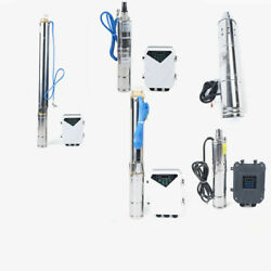 Dc Solar Water Pump 48v 24v Submersible Well Farm And Ranch Andgarden Irrigation Kit