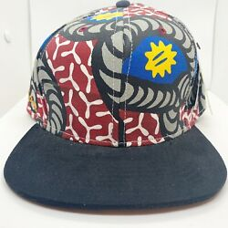 Play Cloths Mens 100 Authentic Strapback Hat Color Multicolor Logo One Size