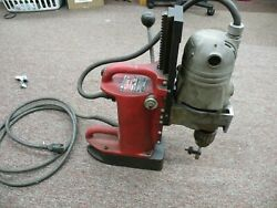 Milwaukee 4201 Magnetic Base Drill Press W/ 4262-1 3/4 Drill Motor