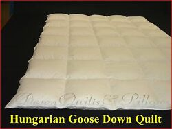 Hungarian Goose Down 95 - Queen Size Quilt - 5 Blanket - Cassette Boxed