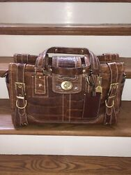 Coach Mens Authentic Alligator Travel Bag Never Used And Extremely Rare