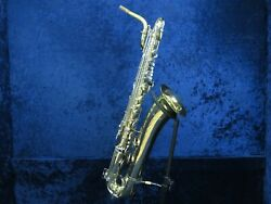 Selmer Usa Baritone Saxophone Ser1266040 Great Player Student Package W/mpc