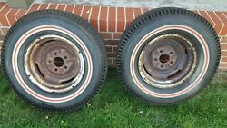 Baldwin Motion Yenko Vintage Super Stock Dragster Redline Slicks Tires Cheater