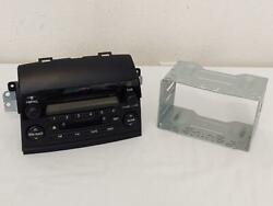 2005 Toyota Sienna Receiver Radio Cd And Cassette P/n 86120-ae011 Dash Mounted