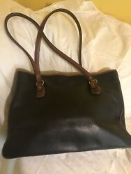Coach Large Leather Tote Black $35.00