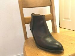 Frye Designer women's ankle boots all Leather size 8B $75.00