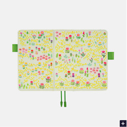 Hobonichi Techo 2021 Field of Flowers A5 Size Cover ONLY JAPAN AU $53.95