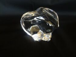 Steuben Crystal - American Eagle - Hand Cooler Figurine Paperweight
