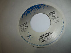 Promo 45 Jack Greene The Rock Iand039m Leaning On Iand039ll Do It Better Next Time Exc