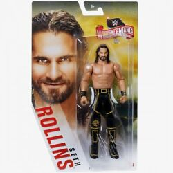 WWE Mattel Seth Rollins Wrestlemania 36 Series Basic Figure