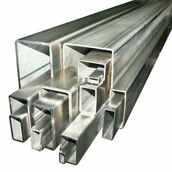 250 X 150 X 8 Grade 316 Stainless Steel Unpolished Box Section Any Length
