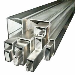 250 X 150 X 10 Grade 316 Stainless Steel Unpolished Box Section Any Length