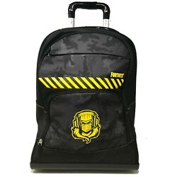 Fortnite School Backpack Trolley Fortnite Official Product Videogame Negro Ps4