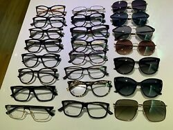 Brand New Lot Of 23 Gucci Eyeglasses And Sunglasses Brand New
