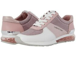 MICHAEL Michael Kors Allie Trainer Sneakers Women's Casual Shoes Smokey Rose $144.95