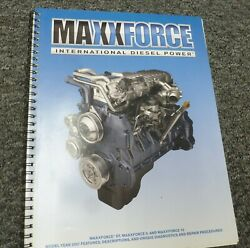 2009 International Maxxforce Dt 9 10 Diesel Engine Features And Service Manual
