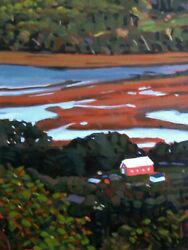 From The Look-off In Canning Nova Scotia Painting