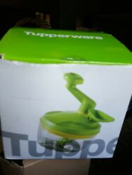 Tupperware Quick Chef Pro System In Green Time Saver Chopper Blade In Box New