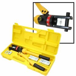 Hydraulic Hand Heavy Duty Cable Wire Crimper Tool Crimping