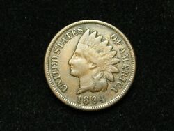 Summer Sale Vf- Xf 1894 Indian Head Cent Penny W/diamonds And Full Liberty 166s