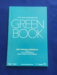 For Your Consideration Green Book - Special Nomination Script For Best Picture