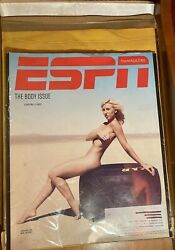 ESPN Magazine 2013 Body Issue Front Cover COURTNEY FORCE NHRA DRAG RACE ALL NUDE