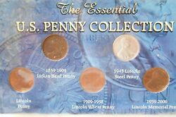 The Morgan Mint Set 20th Century Indian Head Wheat Penny Steel Cent